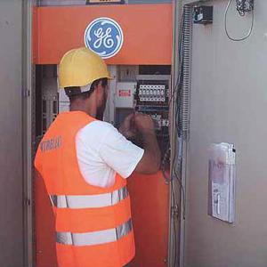 Installation d'une armoire électrique